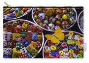 Butterfly With Bowls Carry-all Pouch