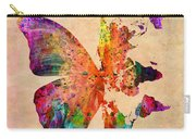 Butterfly World Map  Carry-all Pouch