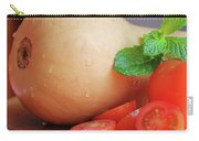 Butternut Mint And Tomatoes Carry-all Pouch