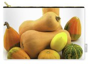 Butternut Squash With Gourds  Carry-all Pouch