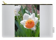 Button Daffodil Carry-all Pouch