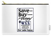 Buy For Victory Carry-all Pouch