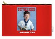 Buy War Bonds -- Third War Loan Carry-all Pouch