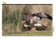 Buzzard Feeding Carry-all Pouch