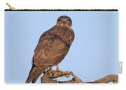 Buzzard In Tree Carry-all Pouch