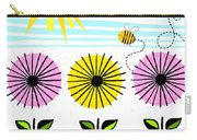 Buzzy As A Bee Carry-all Pouch