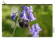 Buzzy Bee On Bluebells Carry-all Pouch