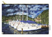 Bvi Sailboats Painting Carry-all Pouch