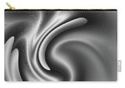 Bw Art 2 Carry-all Pouch by Visual Artist Frank Bonilla