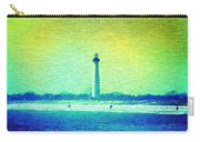 By The Sea - Cape May Lighthouse Carry-all Pouch