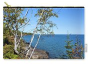 By The Shores Of Gitche Gumee Carry-all Pouch by Kristin Elmquist