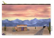 By The Tracks Carry-all Pouch