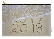 Bye Bye 2017 Welcome2018 Carry-all Pouch