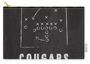 Byu Cougars / Ncaa College Football Art / Salt Lake City Utah Carry-all Pouch by Damon Gray