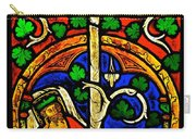 Byzantine Stained Glass Carry-all Pouch