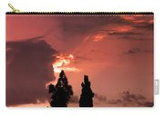 Cloud Anamoly Running Man Carry-all Pouch