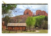 Cabin At Cathedral Rock Carry-all Pouch