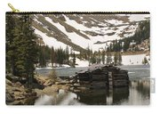 Cabin At Chinns Lake Carry-all Pouch