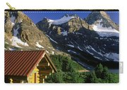 Cabin At Mt Assiniboine Lodge, Mt Carry-all Pouch