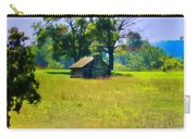 Cabin At Valley Forge Carry-all Pouch