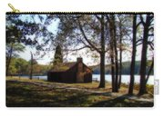 Cabin By The Lake Carry-all Pouch