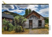 Cabin In The Sagebrush Carry-all Pouch