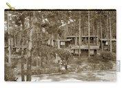 Cabins At Carmel Highlands Inn Circa 1930 Carry-all Pouch