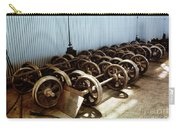 Cable Car Wheels, Repair Shop Carry-all Pouch