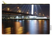 Cable-stayed Bridge Prins Clausbrug In Utrecht At Night 22 Carry-all Pouch
