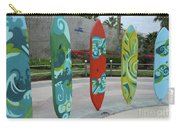 Cabo Surfboard Sculpture 1 Carry-all Pouch