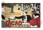 Cacao Karstel - Vintage Cacao Advertising Poster Carry-all Pouch