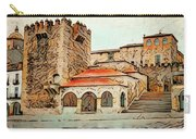 Caceres Spain Artistic Carry-all Pouch