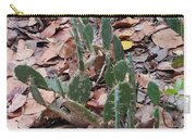Cacti And Leaves Carry-all Pouch