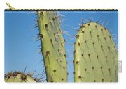Cactus Against Blue Sky Carry-all Pouch