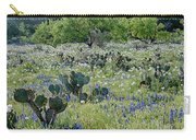 Cactus And Willow-wildflowers Of Texas Carry-all Pouch