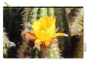 Cactus Bloom 033114a Carry-all Pouch