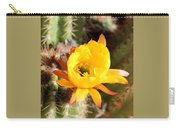 Cactus Bloom 033114c Carry-all Pouch
