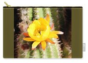 Cactus Bloom 033114e Carry-all Pouch