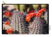 Cactus Bloom 033114g Carry-all Pouch