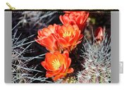 Cactus Bloom 033114j Carry-all Pouch