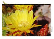 Cactus Bloom In Yellow 050715ab Carry-all Pouch