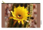 Cactus Bloom Yellow 050914a Carry-all Pouch