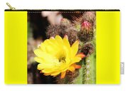 Cactus Blooms Yellow 050214g Carry-all Pouch