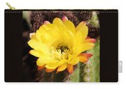 Cactus Blooms Yellow 050214k Carry-all Pouch