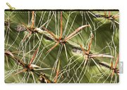 Cactus Diagonal Pattern Carry-all Pouch