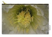 Cactus Flower Macro Carry-all Pouch