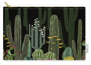 Cactus Garden At Night Carry-all Pouch