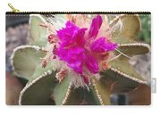 Cactus In Flower Carry-all Pouch