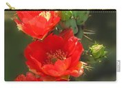 Cactus Red Beauty Carry-all Pouch