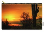 Cactus Sunrise Carry-all Pouch